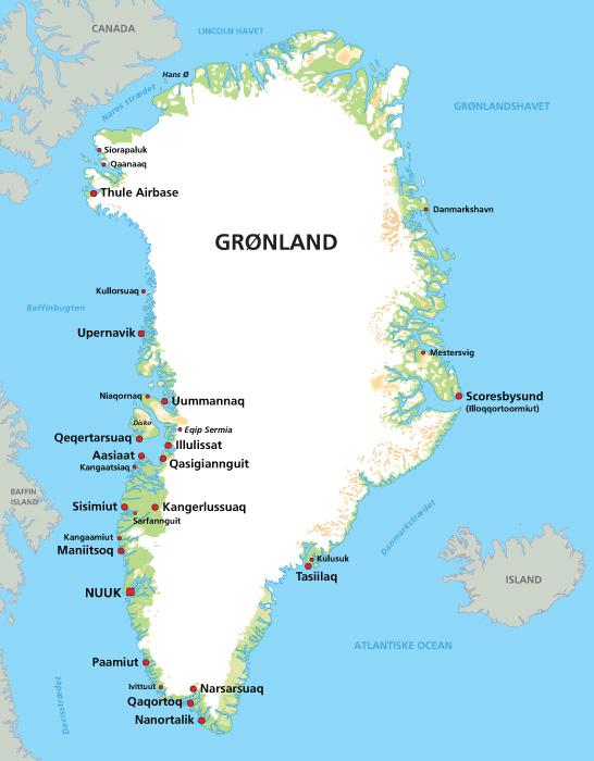 Uummannaq En O Med 1500 Indbyggere Her I Gronlands Stor